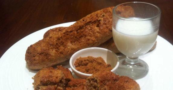 Biscotti integrali al latte