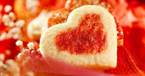Biscotti degli Innamorati (Cuori di San valentino)