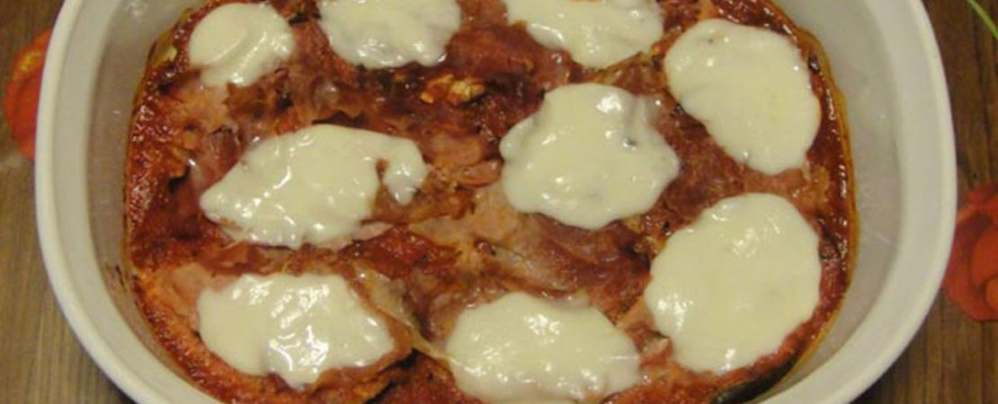 Immagine Testata: Melanzane alla Pizzaiola