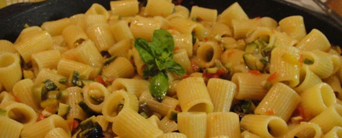 Immagine Testata: Pasta alle verdure