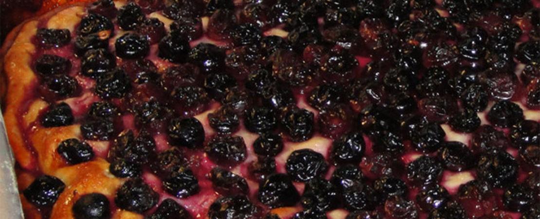 Immagine Testata: Schiacciata con l'uva